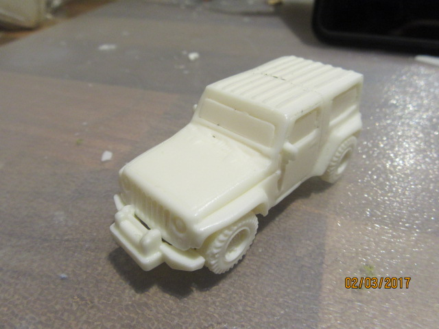 1/72 Jeep Wrangler (HD 113)